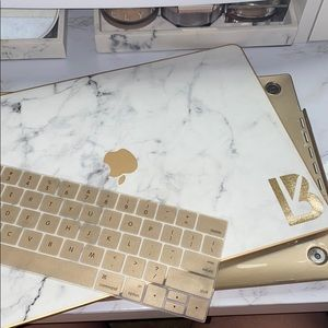 Marble MacBook Pro case